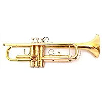 Bach Stradivarious Bb Trumpet in Gold Lacquer Model 37